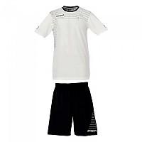 [해외]UHLSPORT Match Team Kit Shirt&Shorts Ss Women White / Black