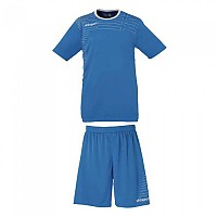 [해외]UHLSPORT Match Team Kit Shirt&Shorts Ss Women Cyan / White
