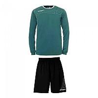 [해외]UHLSPORT Match Team Kit Shirt&Shorts Ls Women Lagoon / White