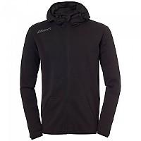 [해외]UHLSPORT Essential Hooded Black