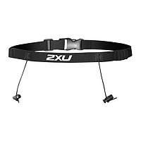 [해외]2XU Race Belt With Loops Black / Black
