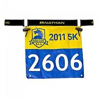 [해외]NATHAN Race Number Belt 2.0 Black