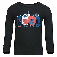 [해외]오들로 Warm Trend Small Shirt L/S Crew Neck Black