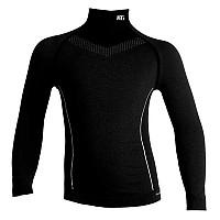 [해외]SPORT HG Technical L/s Shirt With Long Neck Junior Black