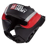 [해외]KRF Airtec Headgear Black / White