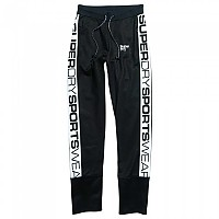 [해외]슈퍼드라이 Drop Track Pants Black