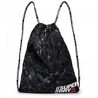 [해외]슈퍼드라이 Sport Drawstring Black Grid