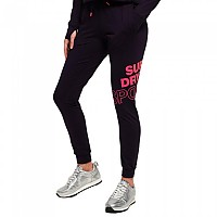 [해외]슈퍼드라이 Core Graphic Jogger Midnight Purple