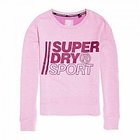 [해외]슈퍼드라이 Core Sport Crew Sugar Pink Marl