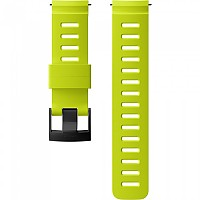 [해외]순토 24mm Dive 1 Silicone Strap Lime / Black