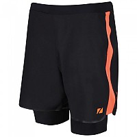 [해외]ZONE3 RX3 Compression 2 In 1 Shorts Black / Orange