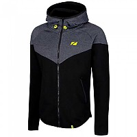 [해외]ZONE3 Cotton Casual Hoodie Black / Grey / Lime