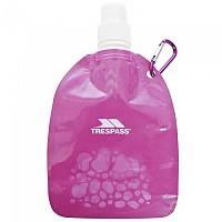 [해외]TRESPASS Hydromini Collapsable Water Bottle 350ml Pink
