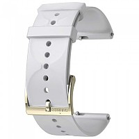 [해외]순토 Urban 1 Silicone 20mm S Strap White / Gold