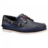 [해외]팀버랜드 Classic 2 Eye Shoes Wide Smooth Navy