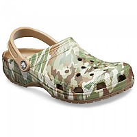 [해외]크록스 Classic Graphic II Clog Dark Camo Green / Khaki