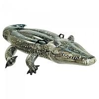 [해외]인텍스 Inflatable Realistic-looking Crocodile + 2 Handles