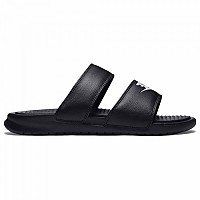[해외]나이키 Benassi Duo Ultra Slide Black / White / Black