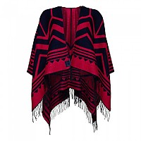 [해외]슈퍼드라이 Chevron Blanket Navy / Pink
