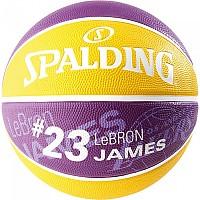 [해외]스팔딩 NBA Pleyer Lebon James Purple / Yellow