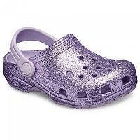 [해외]크록스 Classic Glitter Clog Lavender
