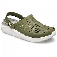 [해외]크록스 LiteRide Clog Army Green / White