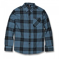 [해외]볼컴 Caden Plaid Blue Rinse