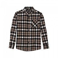 [해외]볼컴 Caden Plaid L/S Black