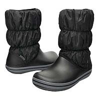 [해외]크록스 Winter Puff Boot Black / Charcoal