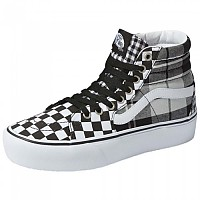 [해외]반스 SK8-Hi Platform 2.0 Black / True White