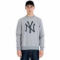[해외]뉴에라 MLB Team Logo Crew Neck New York Yankees Grey Med