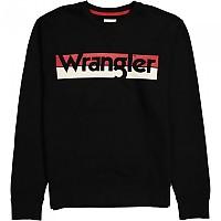 [해외]WRANGLER Logo Crew Black