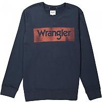 [해외]WRANGLER Logo Crew Navy