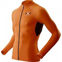 [해외]엑스 바이오닉 The Trick Biking Shirt L/S Full Zip Orange Sunshine / Black