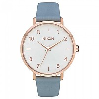 [해외]닉슨 Arrow Leather 136947263 Rose Gold / Blue