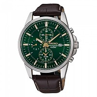 [해외]세이코시계 Alarm Chronograph SNAF09P1 Metallic / Brown / Green