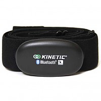 [해외]KINETIC InRide Dual Band HR Strap Black