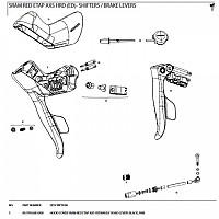 [해외]스램 Hood Cover For Etap AXS Hydraulic Levers Pair Black