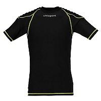 [해외]울스포츠 Torwarttech Protec. Baselayer Shirt Ss Black / Fluoryellow