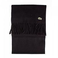 [해외]라코스테 Fringed Wool And Cashmere Black