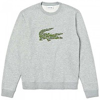 [해외]라코스테 Crew Neck Multi Croc Badge Silver Chine