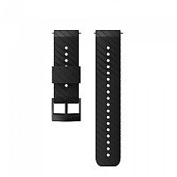 [해외]순토 Athletic 3 Silicone Strap 4136954649 Black / Steel