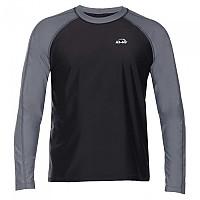 [해외]iQ-Company UV 300 Shirt Loose Fit L/S Ash / Black