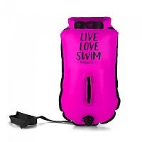 [해외]BUDDYSWIM Drybag Live Love Swim 20L Pink