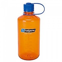[해외]날진 Narrow Mouth Bottle 1L Orange / Loop-Top Blue