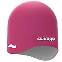 [해외]SWIMGO 3D Ball Cap Reversible Junior Pink / White