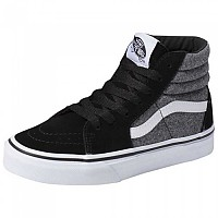 [해외]반스 SK8-Hi Youth Suiting / Black