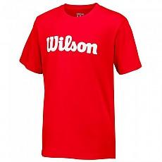 [해외]윌슨 Script Cotton S/S Wilson Red / White
