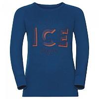 [해외]오들로 Warm Trend Big Shirt L/S Crew Neck Mykonos Blue