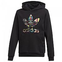 [해외]아디다스 ORIGINALS Hoodie Black / Multicolor